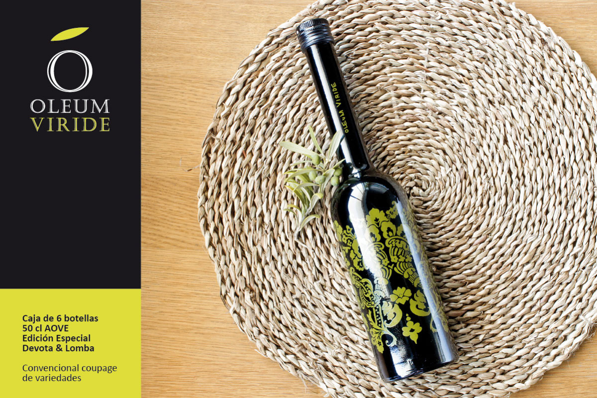 Case 6 bottles 50 cl EVOO. Special edition Devota&Lomba. Blend of varieties